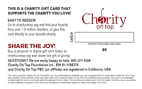 who buys gift cards back shop for cards charity on top