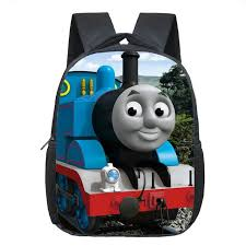 children bags boys girls cartoon thomas backpack kids