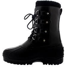 boots uk waterproof mens walking waterproof faux fur duck outdoor hiking mountain