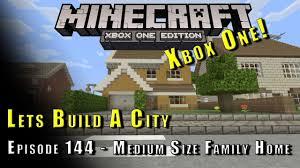 Medium Sized Houses Minecraft Lets Build A City Medium Size Family Home E144