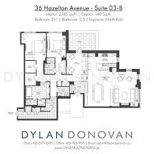 Toronto Condo Floor Plans 36 Hazelton Avenue Floor Plans View All Toronto Condos