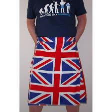 British Flag Shirts Union Jack Flag Kilt