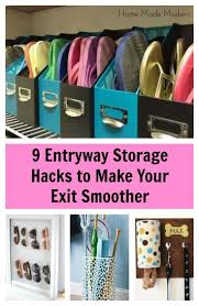 Small Entryway Storage Ideas by 297 Best Organizing U0026 Storage Images On Pinterest Organizing
