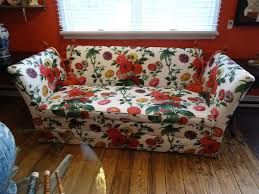 Floral Sofas In Style Knole Style Sofa With Lee Jofa Floral Fabric At 1stdibs