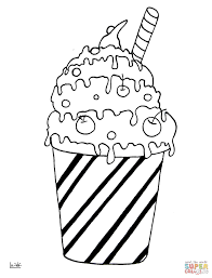 milk cocktail coloring page free printable coloring pages