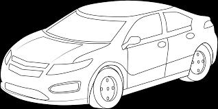 cool sports car coloring free clip art