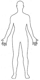 human figure template