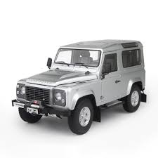 land rover silver kyosho 1 18 scale land rover defender 90 indus silver amazon co