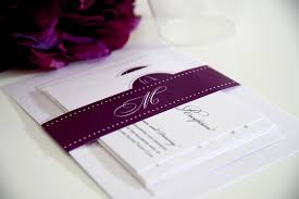 Affordable Wedding Invitations With Response Cards Purple Wedding Invitation Designs Registaz Com