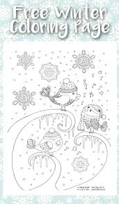 coloring pages winter color page winter color pages to print