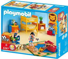 chambre enfant playmobil playmobil 4287 jeu de construction chambre des enfants amazon
