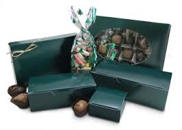 fudge gift boxes mod pac stock packaging forest green candy boxes forest green