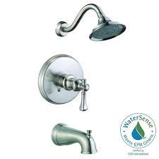 pegasus verdanza watersense single handle 1 spray tub and shower