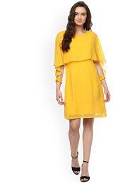 yellow dress yellow dresses buy yellow dresses online in india