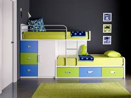 Modern Bunk Beds For Boys Bunk Bed With Desk Space Saving Recous