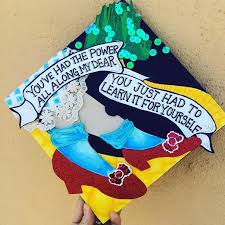 these graduation caps give us the feels get underlined