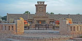 Landscape Fire Features And Fireplace Image Gallery Outdoor Fireplace Photo Gallery U0026 Design Ideas Tampa Bay Area