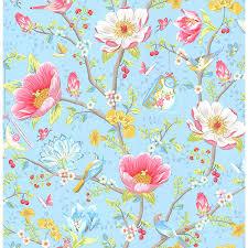341002 light blue chinese garden leizu pip iii wallpaper by