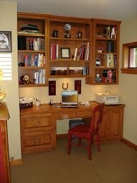 Wooden Home Office Furniture Home Office Wooden Home Office Bookshelf Closed To Brown Wooden
