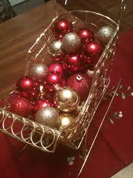 Christmas Table Decoration Ideas Cheap by A Cheap Christmas Centerpiece Salted Chocolate Life With A