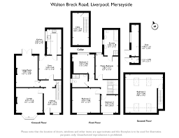 Walton House Floor Plan Walton Breck Road Liverpool Merseyside L4 5 Bedroom Semi