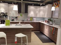 walnut lower cabinets with white uppers accent colour backsplash