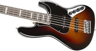 fender american elite jazz bass v rosewood fingerboard 3 color