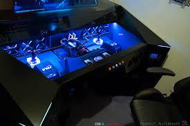 Custom Gaming Desk Cushty Custom Gaming Pc Redditor Builds K Gaming Pc Inside His