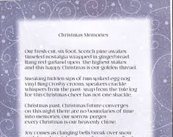 christmas spirit a christmas poem for christmas cards or to