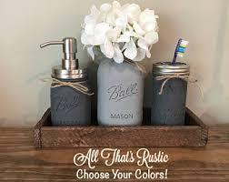 Rustic Bathroom Colors Rustic Bathroom Etsy