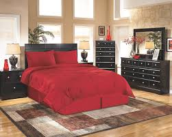 bedroom types of beds in dark wood with red bedding also dark