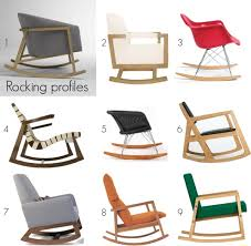 Modern Nursery Rocking Chair Rocking Profiles Modern Rocking Chairs For Baby U0027s Room Stuff