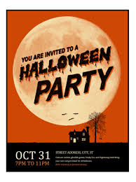 example of a flyer for an event halloween flyer office templates