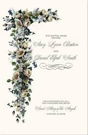 Order Wedding Programs Catholic Wedding Ceremony Catholic Wedding Traditions Wedding