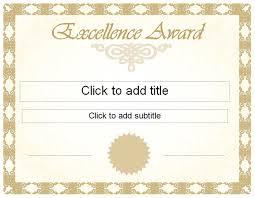 pics photos editable award excellence certificate achievement