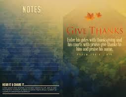 enter his gate with thanksgiving scripture one a church program template church bulletins