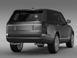range rover svautobiography range rover svautobiography l405 2016 3d model vehicles 3d models