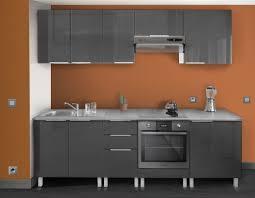 meuble hotte cuisine berlenus ch6hg meuble haut de cuisine sur hotte gris haute brillance