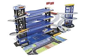 fast lane multi level parking garage playset colors may vary
