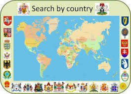 heraldry of the world coats of arms of all countries in the