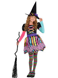 halloween witches costume girls miss matched witch costume wholesale halloween costumes
