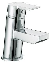bristan pisa basin monobloc mixer tap with clicker waste bath
