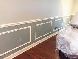 Living Room Wainscoting Adding Wainscoting And New Paint To Our Home Hometalk
