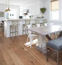 White Wooden Dining Table And Chairs Capture Beauty By Distressed Wood Dining Table Home Interiors