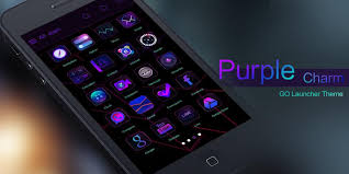 go launcher prime apk purple charm go launcher theme android apps on play