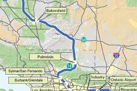 California High Speed Rail Map Socal Bullet Train Route Skycraper Tall Viaducts 500 Foot Deep