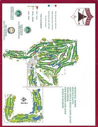 Wi State Map by North Shore Country Club Blue White Layout Map Wisconsin