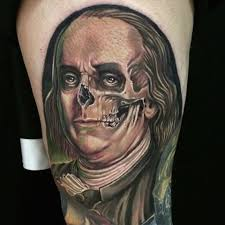 benjamin franklin tattoo designs pictures to pin on pinterest