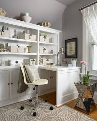 View in gallery Organized home office space with plenty of storage options around
