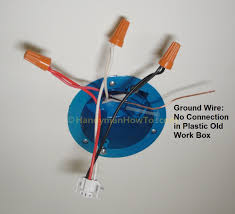 how to install a hardwired smoke alarm wire and mount the alarm